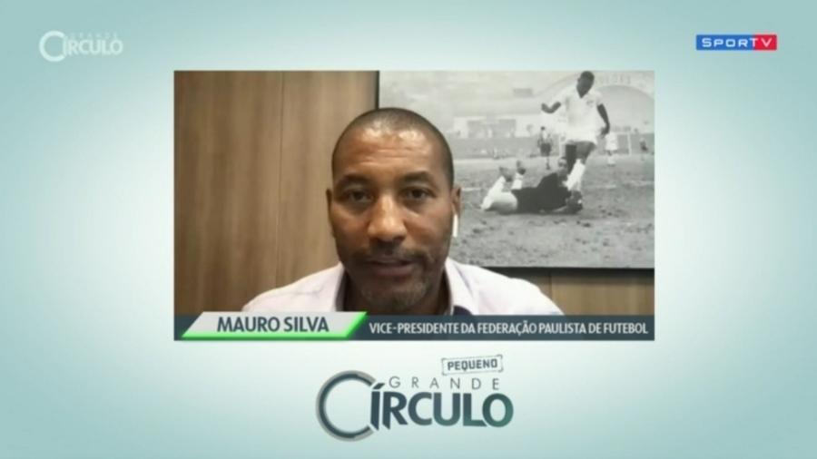 """Mauro Silva pede futebol como """"plataforma de conscientização"""" contra racismo - Reprodução/SporTV"""