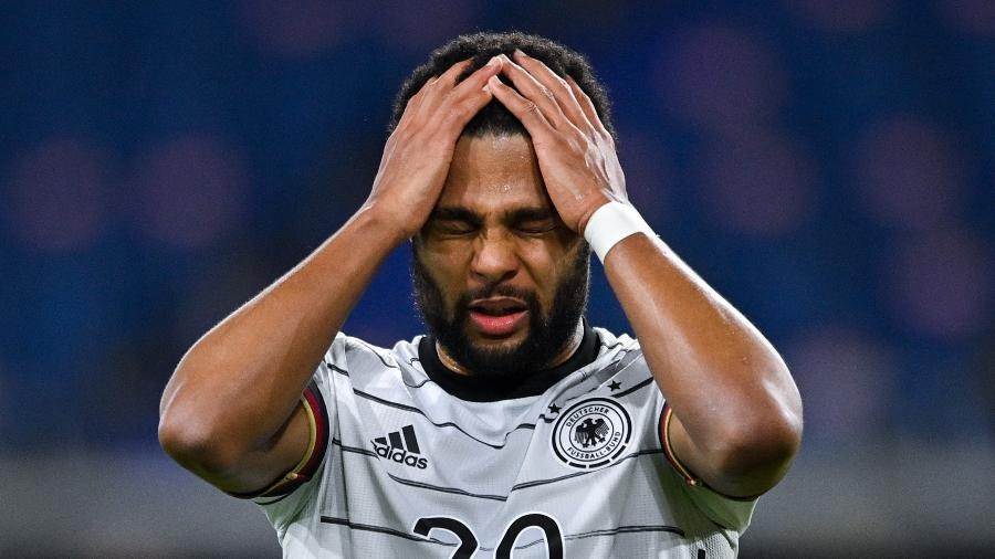 Gnabry lamenta derrota da Alemanha para a Macedônia nas Eliminatórias  - EFE/EPA/SASCHA STEINBACH