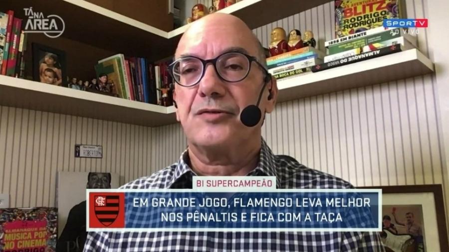 Lédio Carmona reprova dúvidas sobre trabalho de Rogério Ceni - Reprodução/SporTV