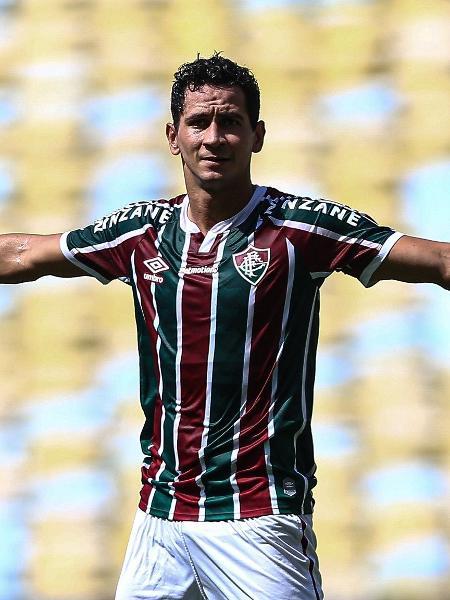 O meia Paulo Henrique Ganso durante partida do Fluminense contra o Madureira - Lucas Merçon