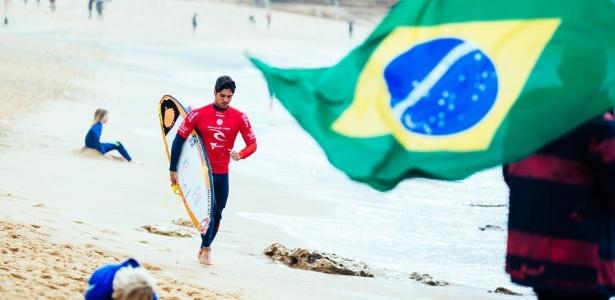 Gabriel Medina não teve o desempenho esperado na Austrália - Ed Sloane/WSL