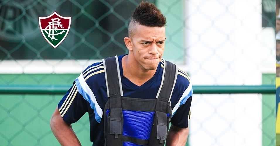 William Matheus (lateral) - do Toulouse-FRA para o Fluminense