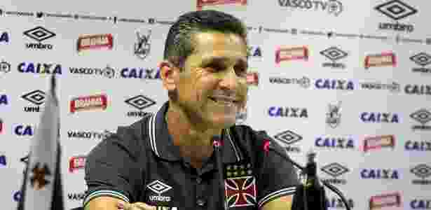 Jorginho se mostrou orgulhoso com a invencibilidade de 31 jogos do Vasco - Paulo Fernandes / Site oficial do Vasco