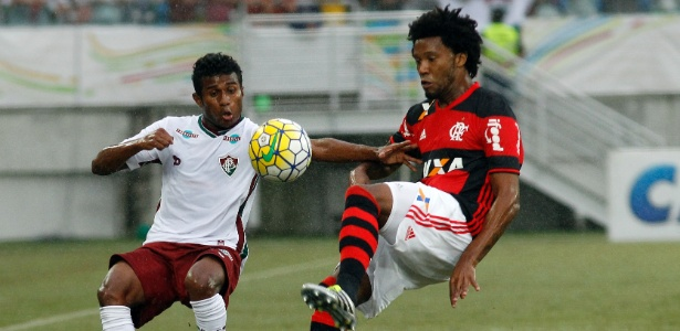 Rafael Vaz em ação pelo Flamengo