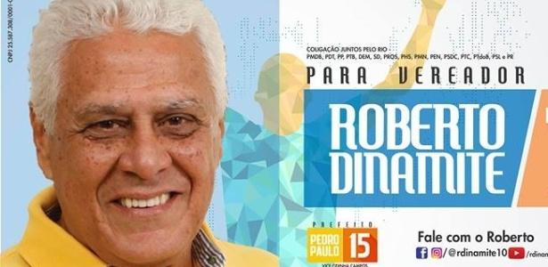 Roberto Dinamite já está em campanha para vereador do Rio de Janeiro
