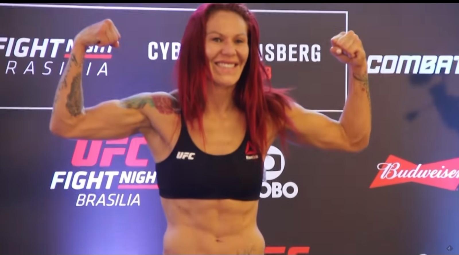 Cris Cyborg bate peso para luta no UFC Brasília