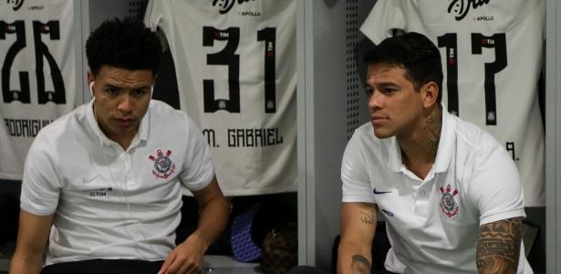 Marquinhos Gabriel (à esquerda) e Giovanni Augusto foram maiores investimentos da gestão Roberto