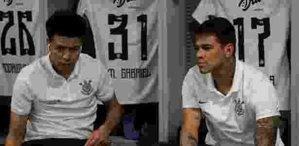 Marquinhos Gabriel e Giovanni Augusto ganham espaço com ausência do titular - Rodrigo Gazzanel/Agência Corinthians