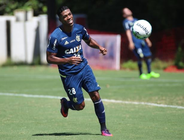 Orlando Berrío está confirmado no time do Flamengo que enfrenta o América-MG  - Gilvan de Souza/ Flamengo