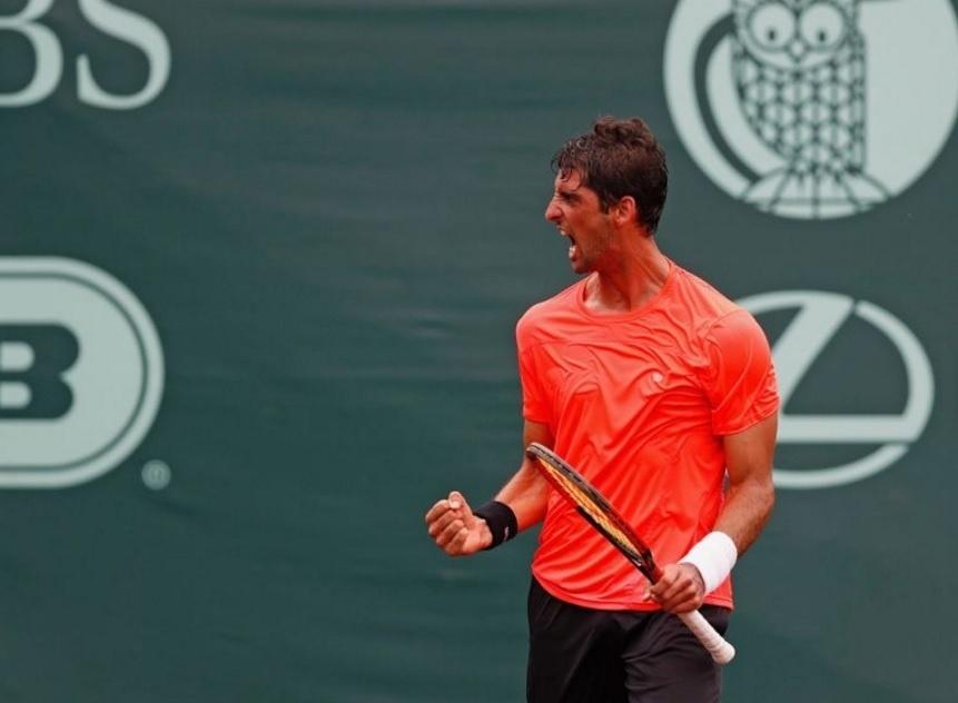 Bellucci comemora vitória no ATP de Houston