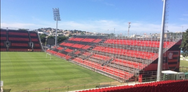 Segundo o Flamengo, A Arena da Ilha está pronta para receber partidas de futebol