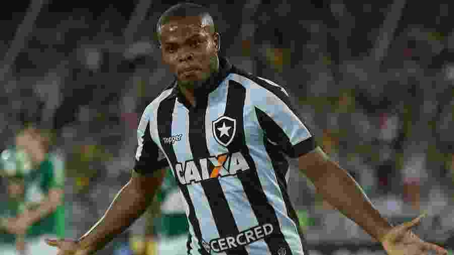 Vinicius Tanque em partida diante da Chapecoense no Nilton Santos - Vitor Silva/SSPress/Botafogo
