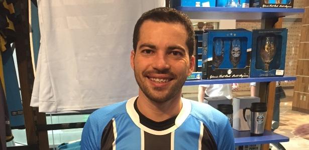 Ewerton cruzou um continente e contou com muita solidariedade para ver seu time - Thiago Silva/ Padrinho Agência de Conteúdo