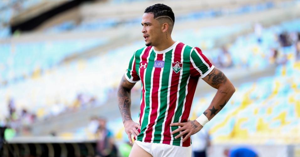 Jogador do Fluminense, Luciano enfrenta o Botafogo