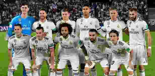 Real Madrid posado - Giuseppe Cacace/AFP - Giuseppe Cacace/AFP