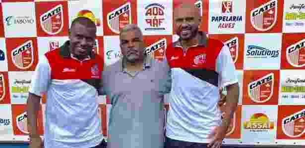 Diego Souza, ex-Palmeiras e pai de filha de Simony, hoje atua no Taboão da Serra - Arquivo pessoal - Arquivo pessoal