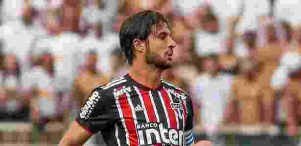 Volante tem sido o capitão do Tricolor enquanto Hernanes não volta a jogar - Marcello Zambrana/AGIF