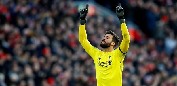 """Alisson classificou o Bayern como um time """"extremamente complicado"""" - Jason Cairnduff/Reuters"""