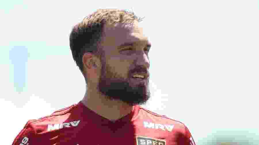 Willian Farias, volante do São Paulo - Marcello Zambrana/AGIF