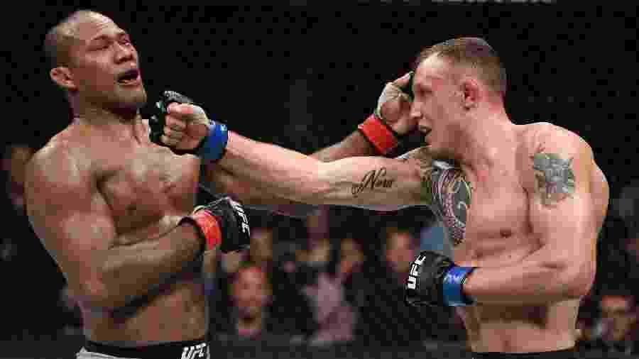 Jacaré é derrotado no UFC Miami  - Jeff Bottari/Zuffa LLC/Zuffa LLC via Getty Images