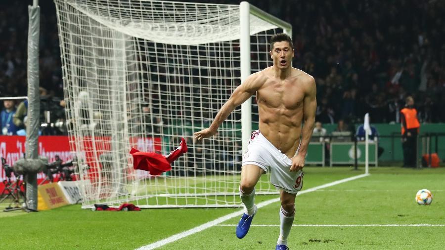 Lewandowski é o grande nome do futebol mundial nesta atípica temporada - Christian Charisius / AFP