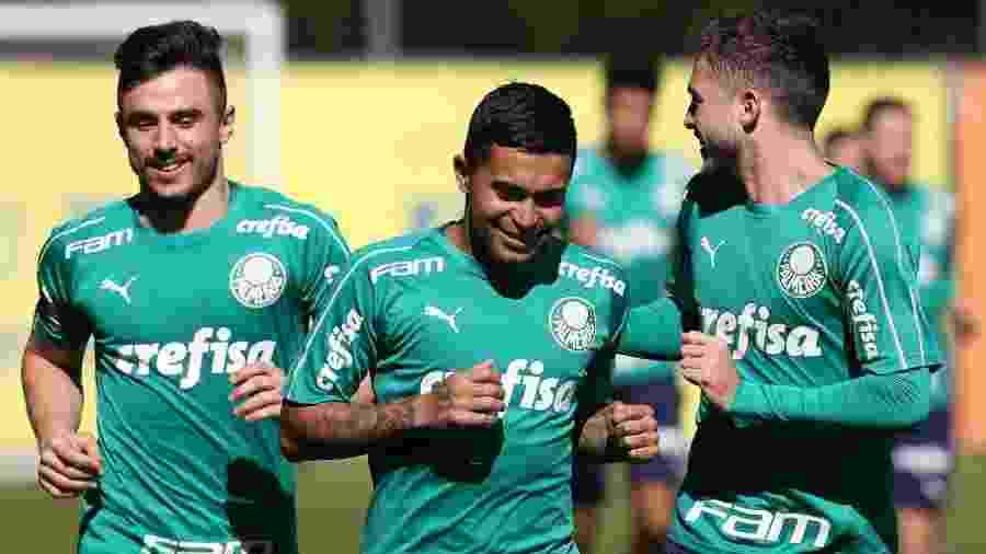 Elenco do Palmeiras ficará concentrado na Academia de Futebol até jogo-treino com o Oeste - Cesar Greco/Ag. Palmeiras/Divulgação