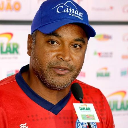 Roger Machado, técnico do Bahia - Felipe Oliveira/EC Bahia