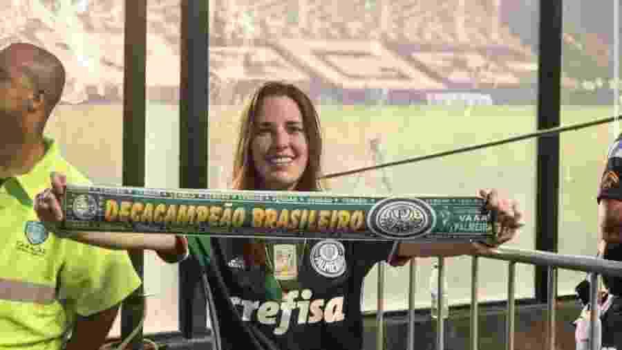 Advogada palmeirense Giulianna Selingardi se associou ao Vasco por admiração ao clube e laço familiar - Arquivo pessoal