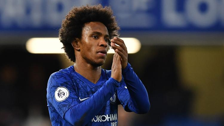 Desde 2013 no clube | Willian pode trocar Chelsea pelo Tottenham, diz jornal