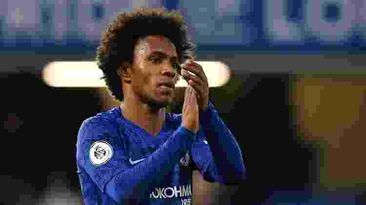 Willian top5 Inglaterra Blog do Julio Gomes - Ben Stansall/AFP - Ben Stansall/AFP