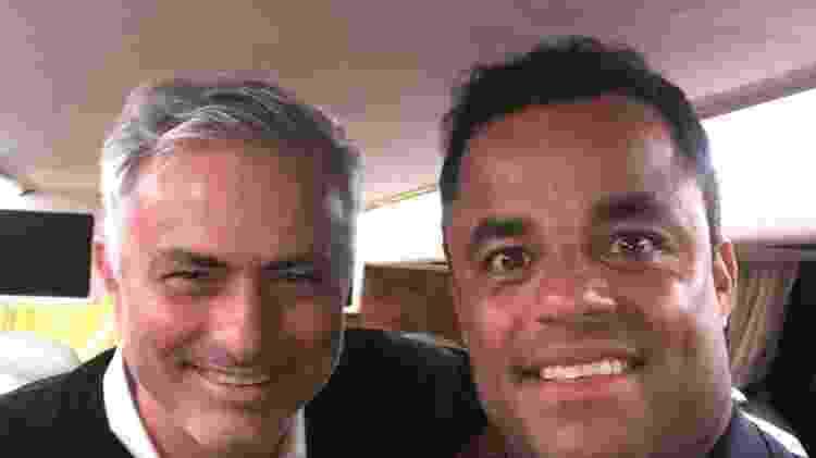 José Mourinho foi treinador de Mancini, mas ele prefere Vanderlei Luxemburgo - Reprodução/Instagram - Reprodução/Instagram