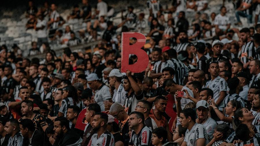Torcedores não podem frequentar estádio por causa da pandemia do novo coronavírus - Alessandra Torres/Agif