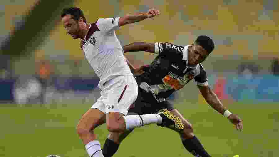 Por coronavírus, Fluminense e Vasco se enfrentaram com portões fechados no Maracanã - Thiago Ribeiro/AGIF