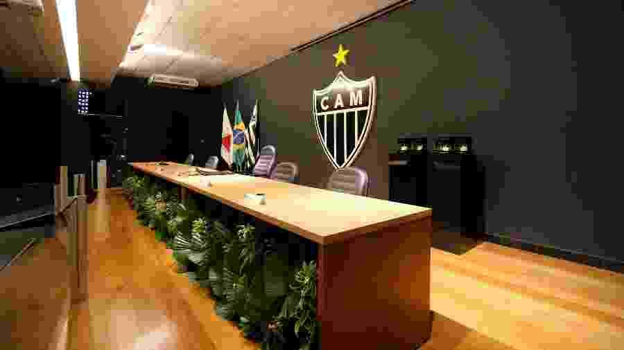 Conselho Fiscal do Atlético-MG aprovou, mas fez ressalvas sobre as contas do clube em 2019 - Pedro Souza/Atlético-MG
