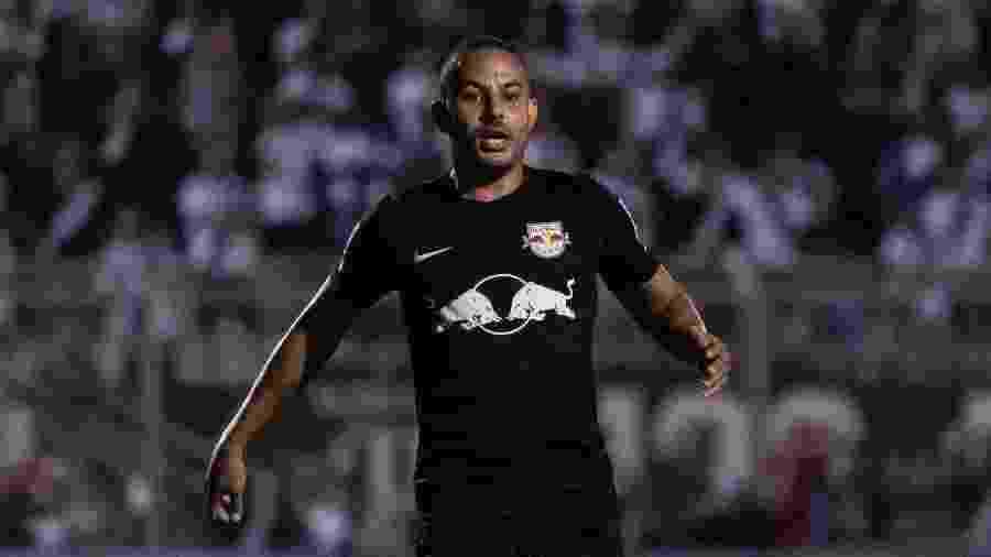 Ytalo, do Red Bull Bragantino, durante partida contra a Ponte Preta em 9 de março. Fez dois gols naquela partida - Rebeca Reis/AGIF
