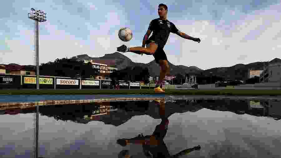 O vínculo de Marcinho com o Botafogo termina no dia 31 de dezembro de 2020 - Vitor Silva/BFR