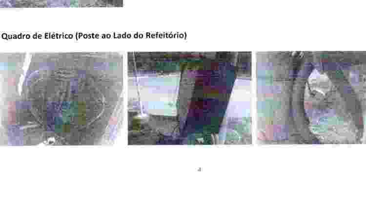 Relatório instalações elétricas Ninho do Urubu 2 - Reprodução - Reprodução