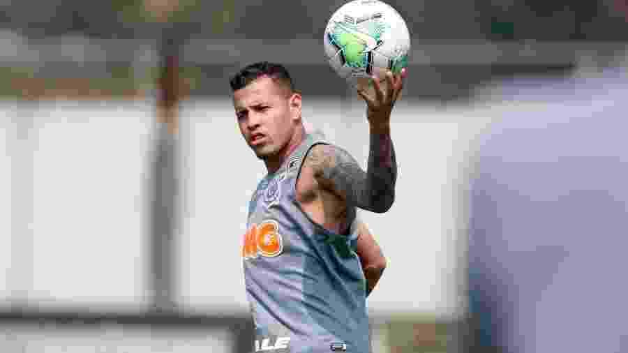 Sidcley, durante treino do Corinthians - Rodrigo Coca/Agência Corinthians