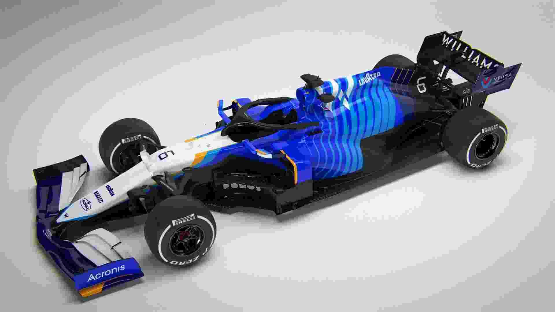 Williams terá George Russell e Nicholas Latifi como pilotos - Divulgação/Williams