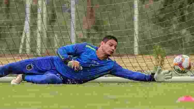 Douglas Borges em 2020, pelo Volta Redonda - André Moreira/VRFC - André Moreira/VRFC