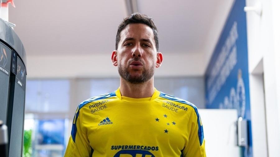 Ariel Cabral terminou a temporada 2020 emprestado ao Goiás, que acabou rebaixado à Série B do Brasileirão - Bruno Haddad/Cruzeiro