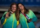Andrea Grael celebra bi olímpico de Martine: 'Ela brincava no meu barco'
