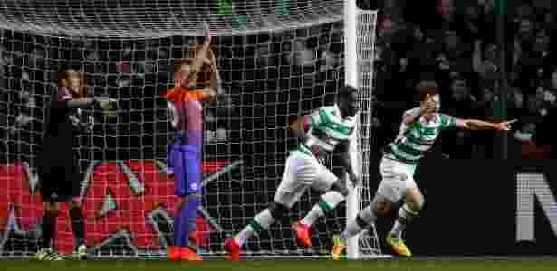 Dembélé abriu o placar para o Celtic nesta quarta-feira - Reuters / Lee Smith - Reuters / Lee Smith