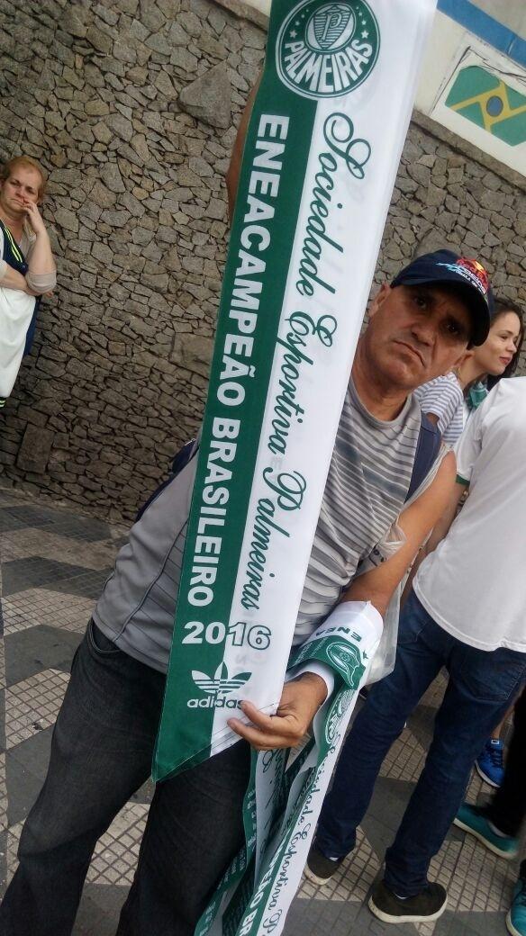 Eneacampeão faixa Palmeiras título