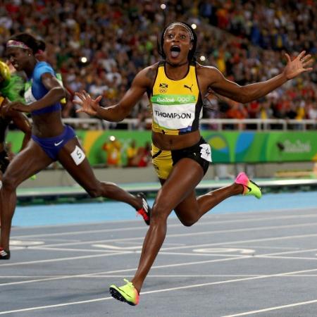 Elaine Thompson vence os 100m feminino na Rio 2016 - Ian Walton/Getty Images