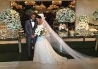 Casamento de Lucas, do PSG - Luiza Oliveira (UOL)