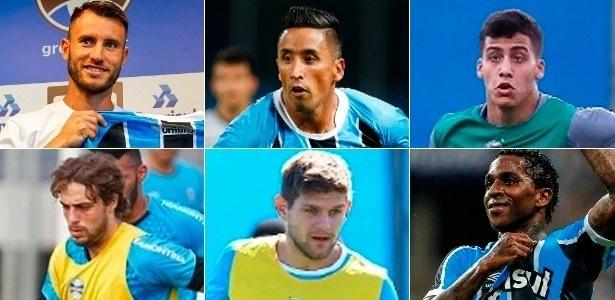 Grêmio buscou três novos estrangeiros em 2017 e pode fechar com mais um