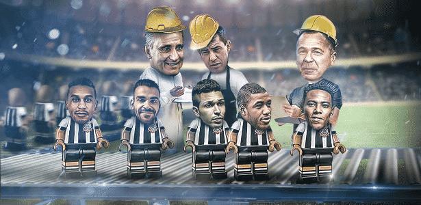 """""""Criados"""" por Tite, Carille e Mano, eles viraram apostas de outros clubes brasileiros em 2017 - Arte/UOL"""