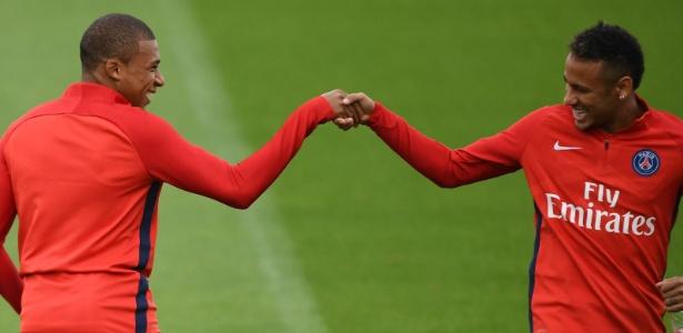 Contratados pelo PSG, Neymar e Mbappé alavancaram o valor movimentado em 2017