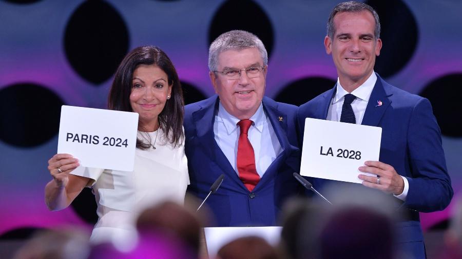Thomas Bach, presidente do COI, voltou a falar sobre a punição aos atletas russos - Fabrice Coffrini/AFP